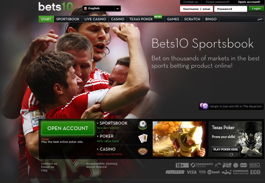 bets10 home